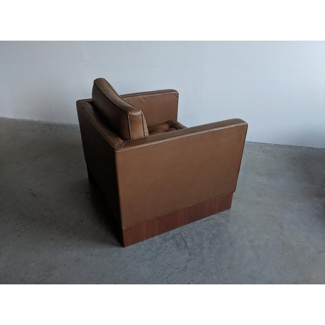 Mid-Century Modern Vintage Mid Century Mies Van Der Rohe Lounge Chair For Sale - Image 3 of 9