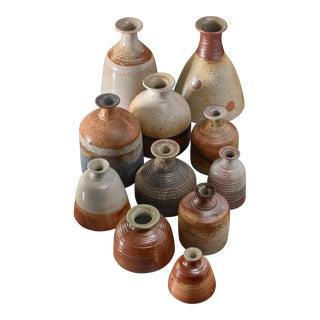 Collection of 11 Franco Agnese Ceramic Pieces, France, 1960s