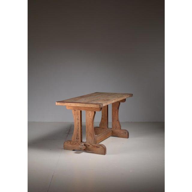 David Rosen 'Berga' Table for Nordiska, Sweden, 1940s For Sale - Image 5 of 5