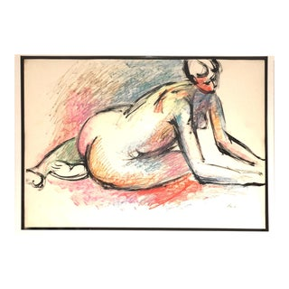 "1960s Vintage ""Nude"", by Michael Loew For Sale"