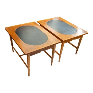 1960s Mid-Century Modern Paul McCobb for Lane Signature End Tables - 2 Pieces For Sale