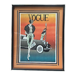 Mid 20th Century Limited Edition Vogue Lithograph by Leslie Andrews For Sale