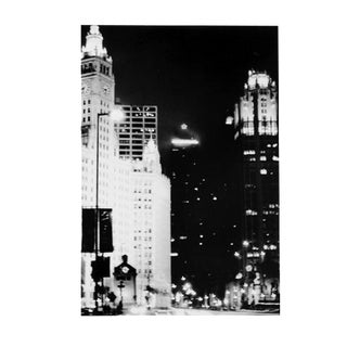 """Chicago in Motion"" Black & White Photograph For Sale"