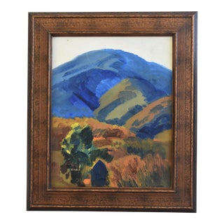 George Barker (1882-1965), Plein Air California Landscape Oil Painting For Sale