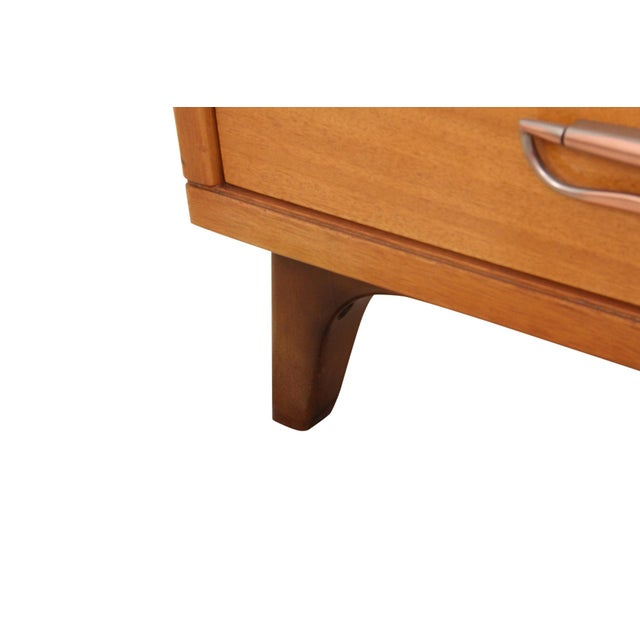 Metal Mid Century Landstrom Chest of Drawers For Sale - Image 7 of 9