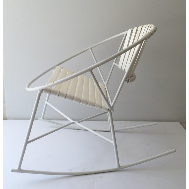 Mid-Century Outdoor Rocking Chair - Image 6 of 8