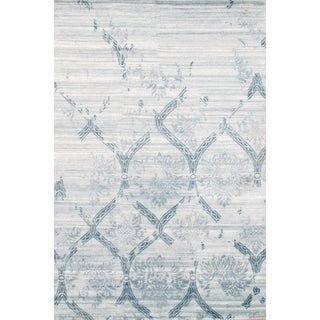 Bamboo Silk Modern Rug - 6' X 9' For Sale