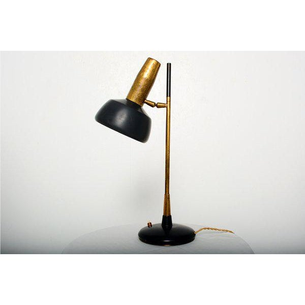 For your consideration a vintage desk lamp by Oscar Torlasco for Lumi, Milano. CONDITION Excellent. Original vintage...