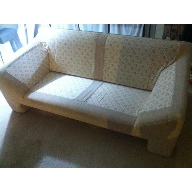 N. Eilersen Danish Love Seat For Sale - Image 5 of 5
