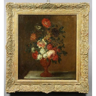 French Still Life Painting of Flowers Preview