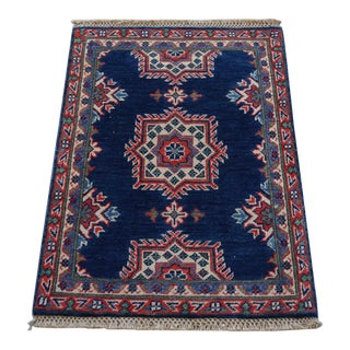 Traditional Kazak Hand Knotted Rug - 2' x 3'