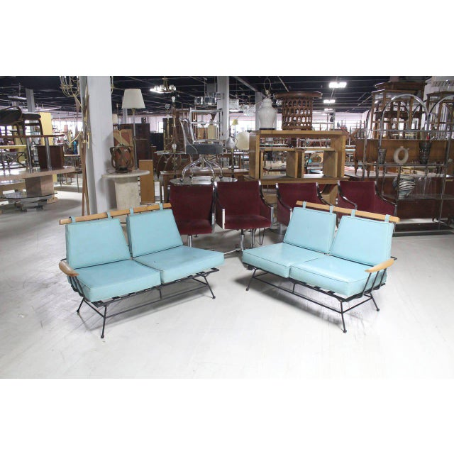 Mid-Century Modern Sectional Sofa Frames- 2 Pieces For Sale - Image 9 of 11