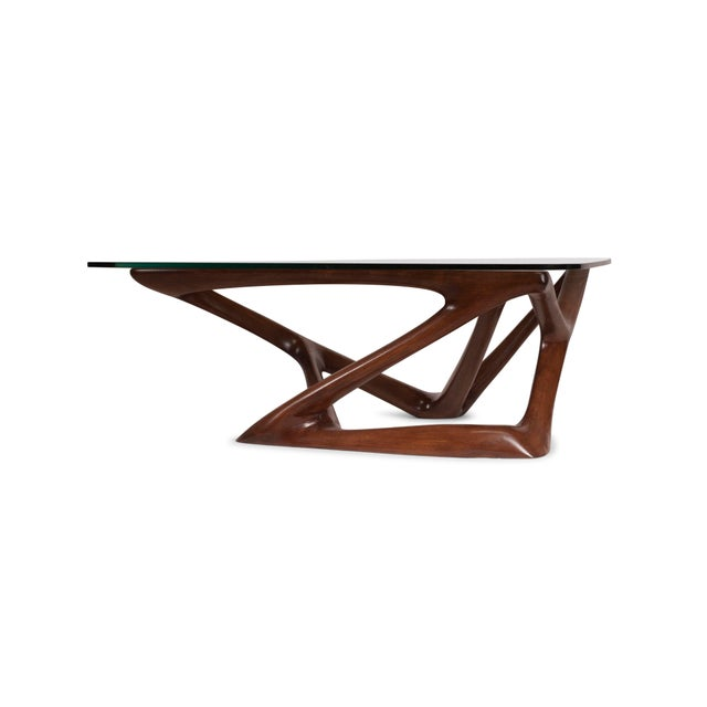 Not Yet Made - Made To Order Amorph Climax Coffee Table - Walnut Finish For Sale - Image 5 of 11