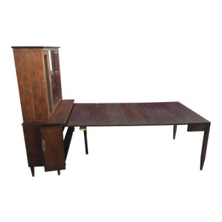 Extension Dining Table 1960's Extensole Mid Century Modern