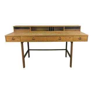 20th Century Danish Modern Jens Quistgaard Flip-Top Writing Desk
