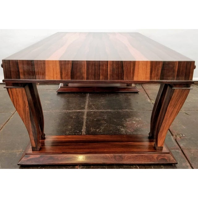 Traditional Style Bolivian Rosewood Coffee Table For Sale - Image 4 of 10