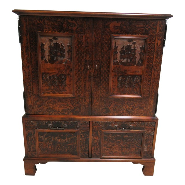Hickory Chair Thomas O'Brien Collection Armoire For Sale