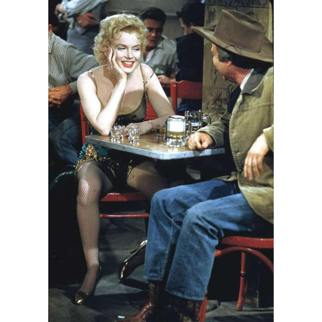 "Chair Used by Marilyn Monroe in the 1952 ""Bus Stop"" Movie - Image 4 of 5"