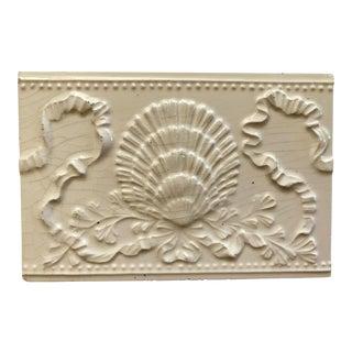 Shell Tile / Trivet For Sale