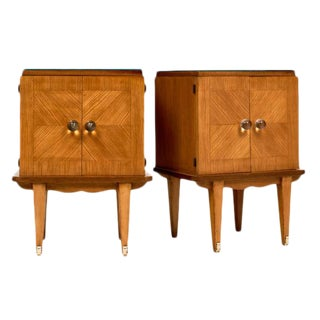 French Mid-Century Modern Side Tables