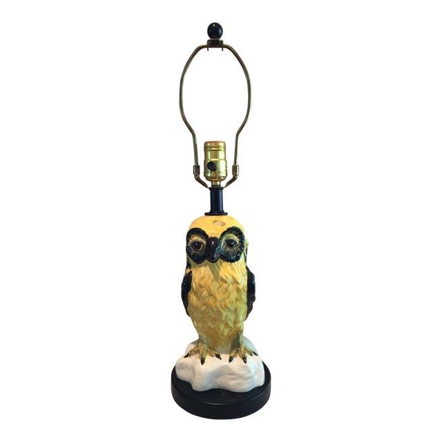 Vintage Italian Bitossi Raymor Owl Lamp - Image 1 of 9