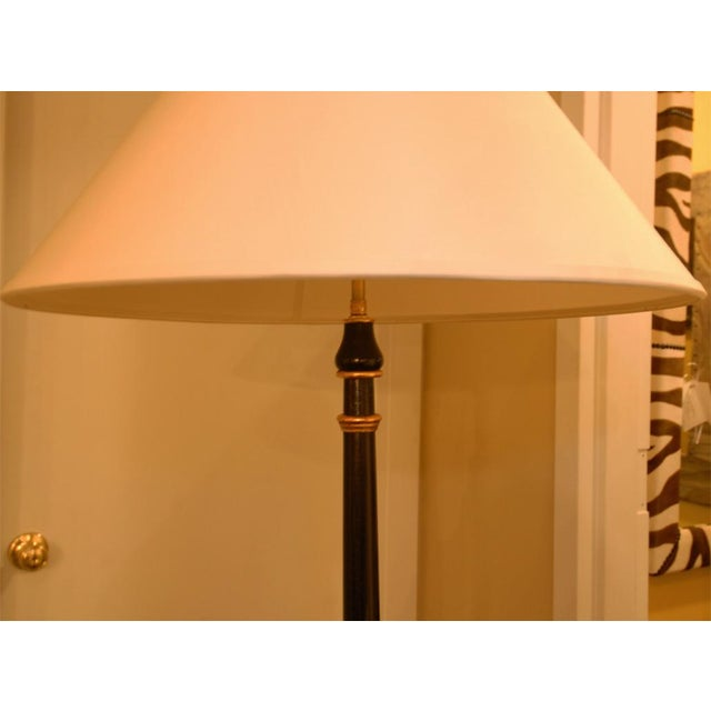Hand-Painted Lacquer Floor Lamp - Image 2 of 6