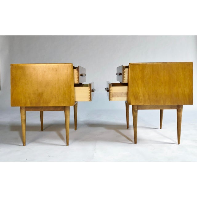 Mid-Century Modern Edmond Spence Nightstands For Sale - Image 3 of 11