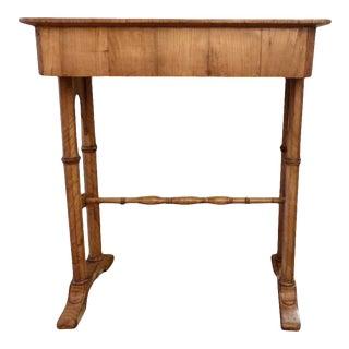 Mid 19th Century Biedermeier Side Table For Sale