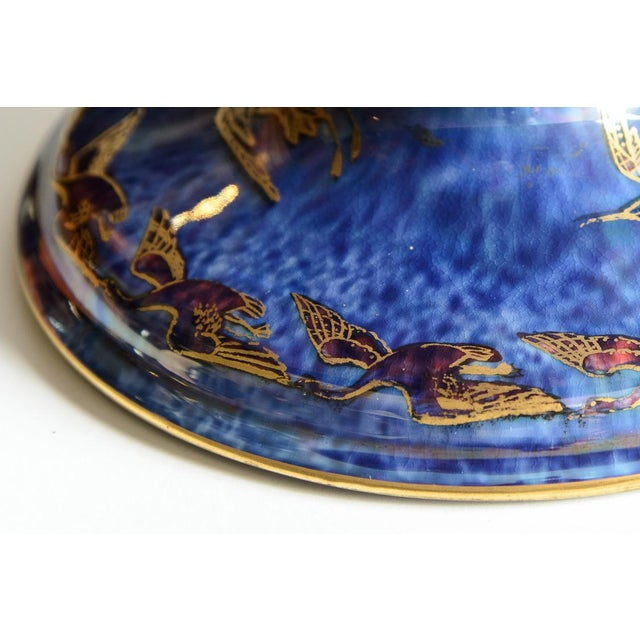 "Ceramic Wedgewood ""Fairyland"" Lustre Bowl For Sale - Image 7 of 9"