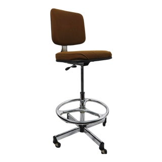 Adjustable Drafting Stool by Cramer For Sale