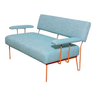 Modernist 2 Seater Sofa For Sale