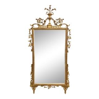 18th Century Italian Neo-Classical Gilt Wood Mirror For Sale