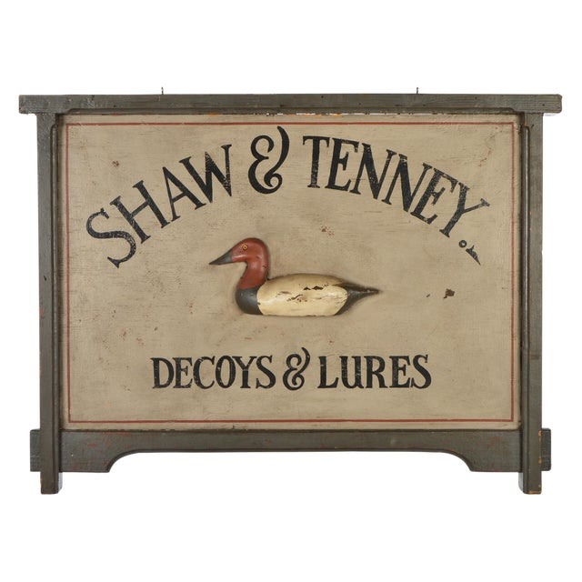 Decoys and Lures Trade Sign For Sale - Image 11 of 11
