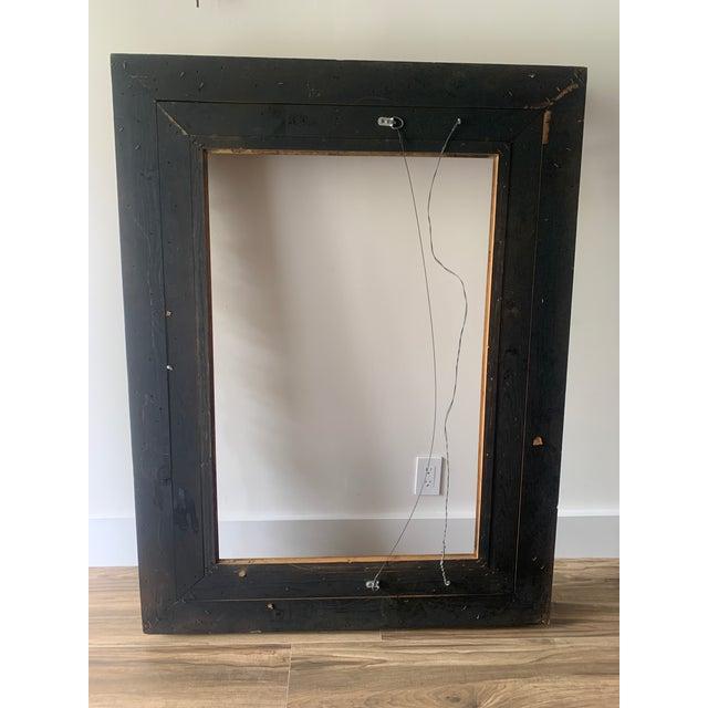 Baroque Ornate Gilt Wood Frame For Sale - Image 9 of 11