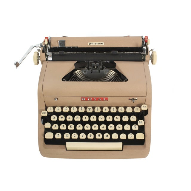 Royal Quiet DeLuxe Typewriter - Image 1 of 7