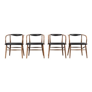Lawrence Peabody Mid-Century Modern Dining Chairs for Richardson Nemschoff For Sale