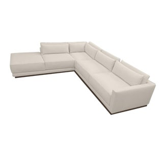 """Custom to Order """"Texture in Linen"""" Collection Sectional"""