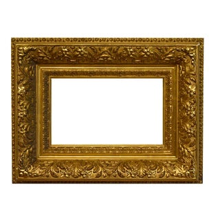 1880 Traditional Barbizon Gold Leaf Picture Frame For Sale