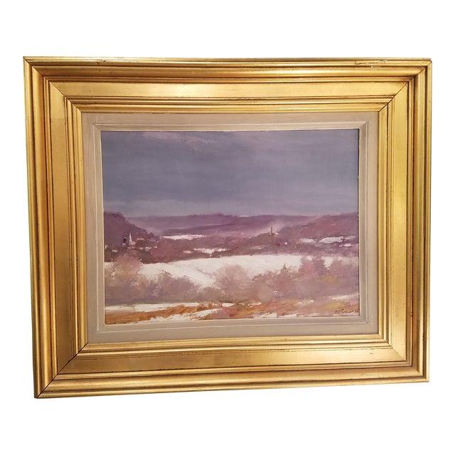 Tony Autorino Bucks County Impressionist Oil Painting - Image 1 of 6