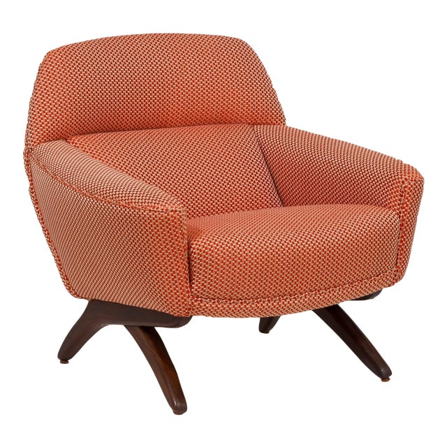 A Danish Leif Hansen attributed Upholstered Armchair 1950s For Sale