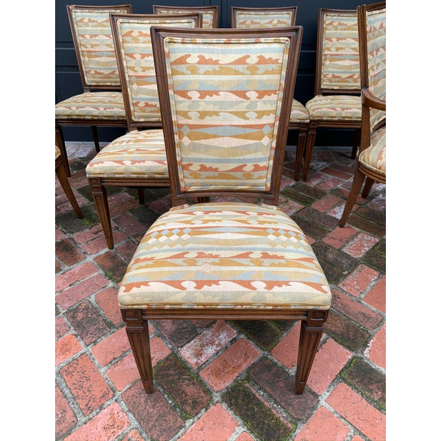 Classic Vintage Louis Dining Chairs - Set of 8 For Sale - Image 4 of 11