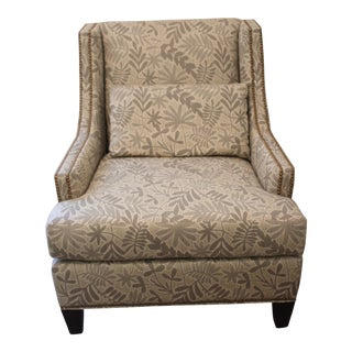 Hancock and Moorer Arm Chair For Sale