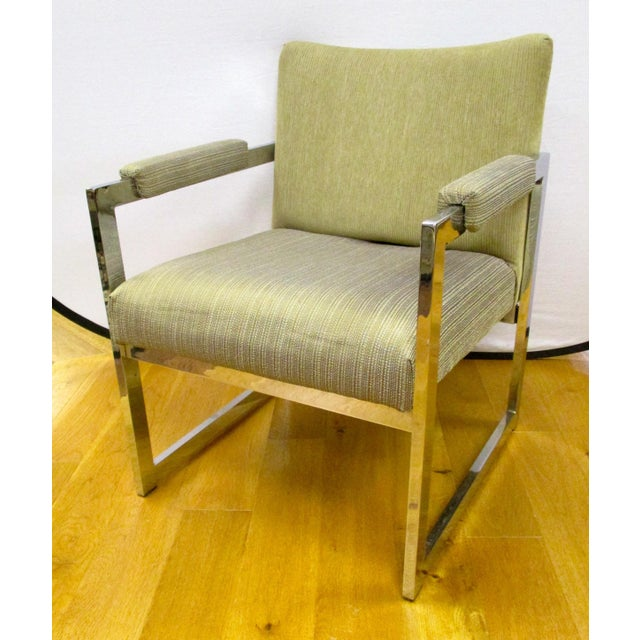 Mid-Century Modern Mid-Century Modern Chair Chrome Chair For Sale - Image 3 of 5