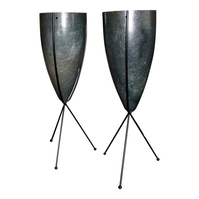 Ray and Charles Eames Wartime Navy Contract Fuel Pod Planters- A Pair For Sale