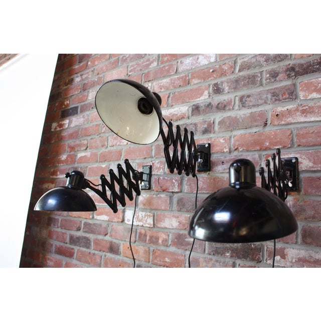 Christian Dell for Kaiser Extendable Wall Lamp For Sale In New York - Image 6 of 10