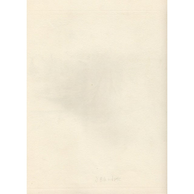 Andre Dunoyer de Segonzac Etching c.1930's - Image 3 of 3