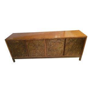 Acid Washed Bronze Sideboard / Credenza by John Widdicomb For Sale