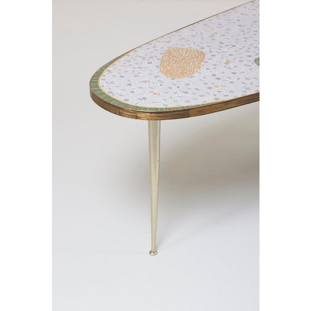Vintage Boomerang Coffee Table by Berthold Müller For Sale - Image 6 of 11