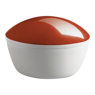 """Lola"" Porcelain Box Coral by Gottfried Palatin For Sale"
