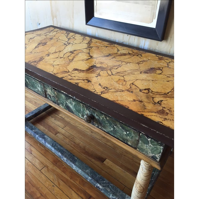 Painted Italian Antique Table For Sale - Image 9 of 10